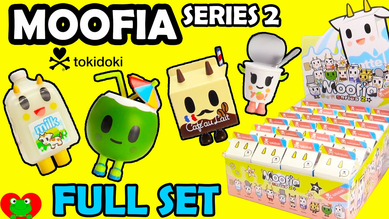 Moofia Series 2 Tokidoki Youtube