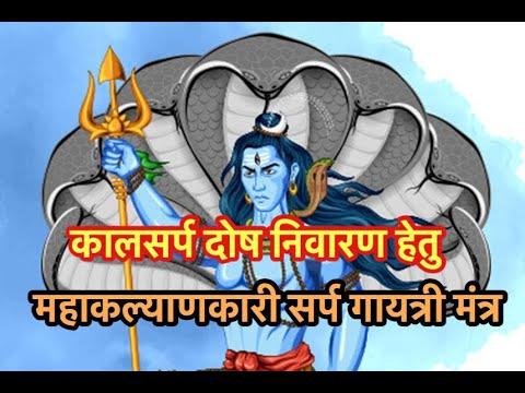 Powerful Sarp Gayatri Mantra For Kaal sarp...