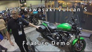 2015 Kawasaki Vulcan S Demo And Feature Tour AIMExpo