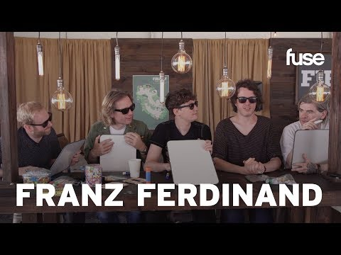 Franz Ferdinand Quiz Each Other On Bad Habits & Guilty Pleasures
