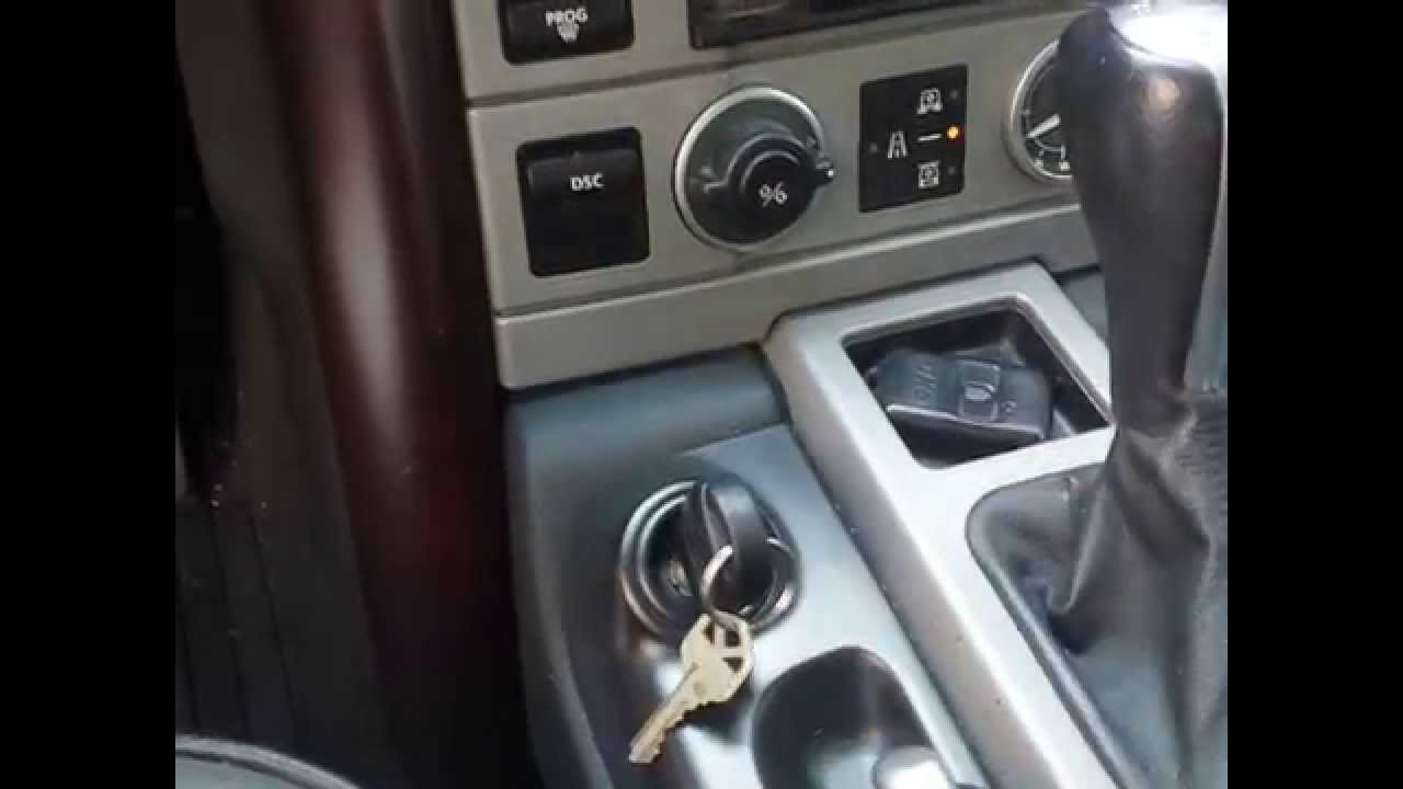 small resolution of range rover key won t turn or ignition problem