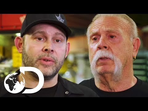 Paul Junior And Senior Are Working Together For The First Time In Years | American Chopper