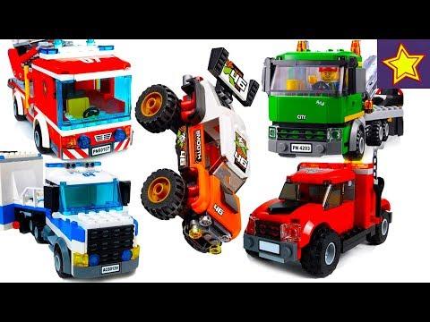 Все машинки Лего для детей Все серии подряд Lego Cars Toys