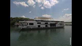 2006 Sumerset 20 x 90WB Reverse Layout 6 Bedroom 2 Bath Houseboat For Sale on Norris Lake TN - SOLD!