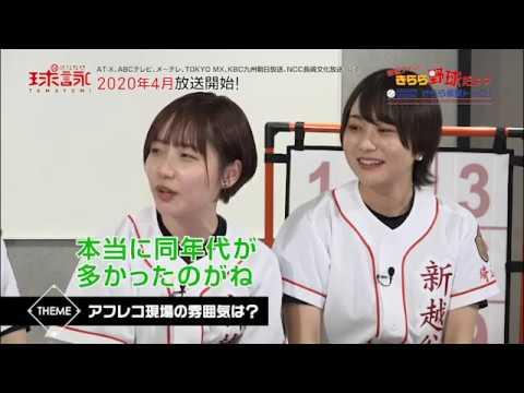 TVアニメ「球詠」予習大作戦!新越ナインのきらら野球だよ?<第八回>