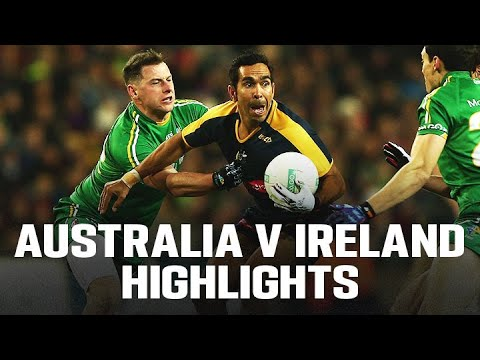 AFL - Australia v Ireland International Rules Highlights 2015