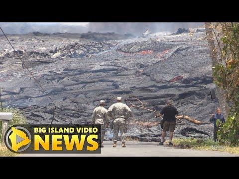 Hawaii Volcano Eruption Update - Wednesday Evening (May 23, 2018)