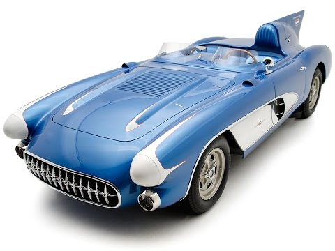 1956 Chevrolet Corvette SR-2 Factory Race Car shown by Corvette Mike
