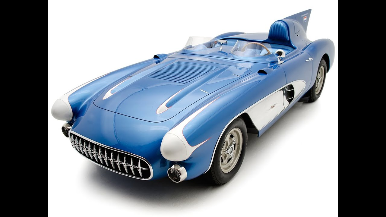 1956 Chevrolet Corvette Sr 2 Factory Race Car Shown By