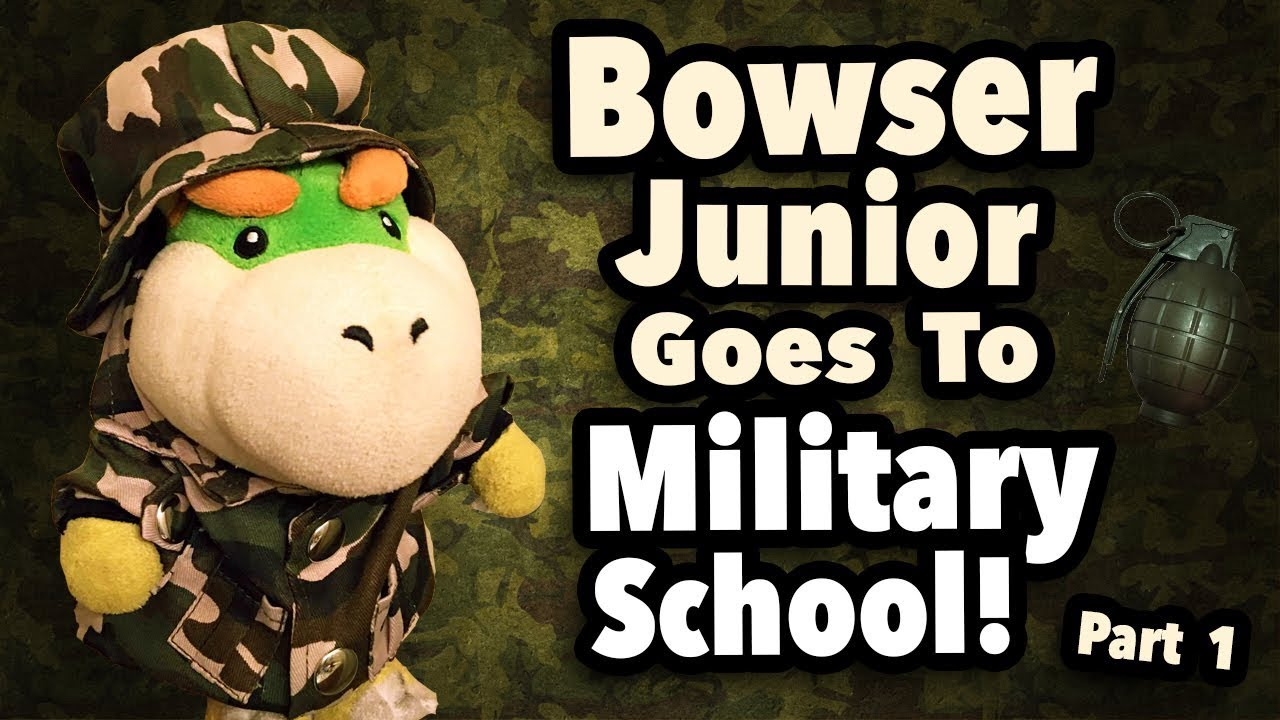 Download SML Movie: Bowser Junior Goes To Military School Part 1 [REUPLOADED]