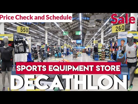 SPORTS & GYM EQUIPMENT AT DECATHLON PHILIPPINES | One Stop Shop For Sports