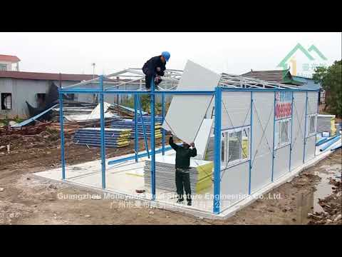 China Cheap and Easy-install  prefab house