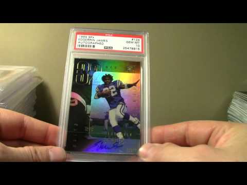1999 PSA SET REGISTRY EDGERRIN JAMES SHOWCASE