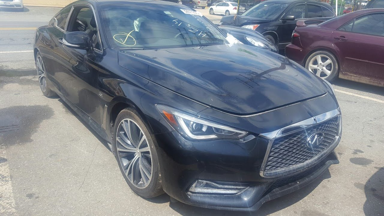 Bought A 2017 Infiniti Q60 From Copart Found Out It Was A Hertz Rental Car Showing Damage Drivable