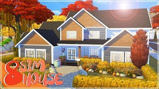8 SIM HOUSE | The Sims 4 | Speed Build