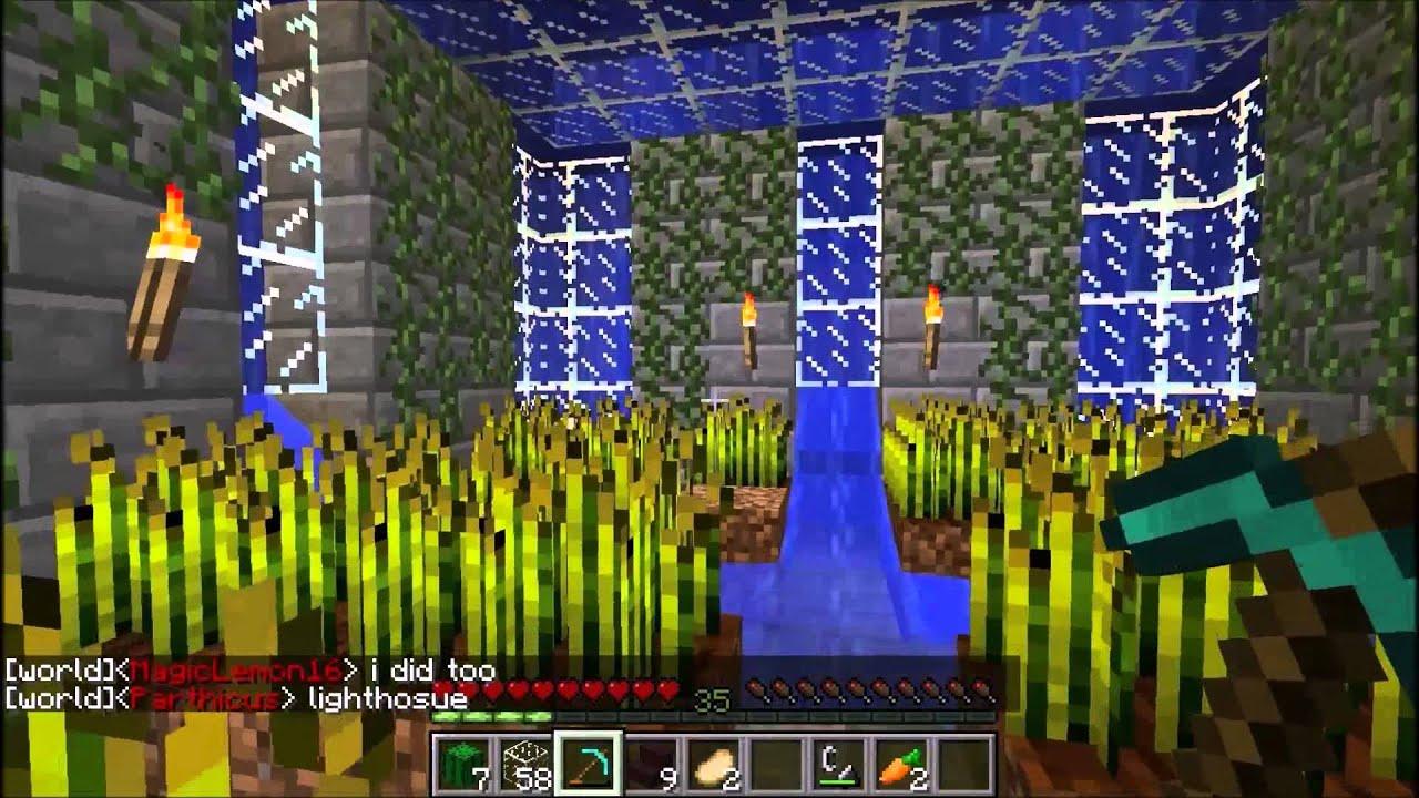 minecraft underwater house survival youtube