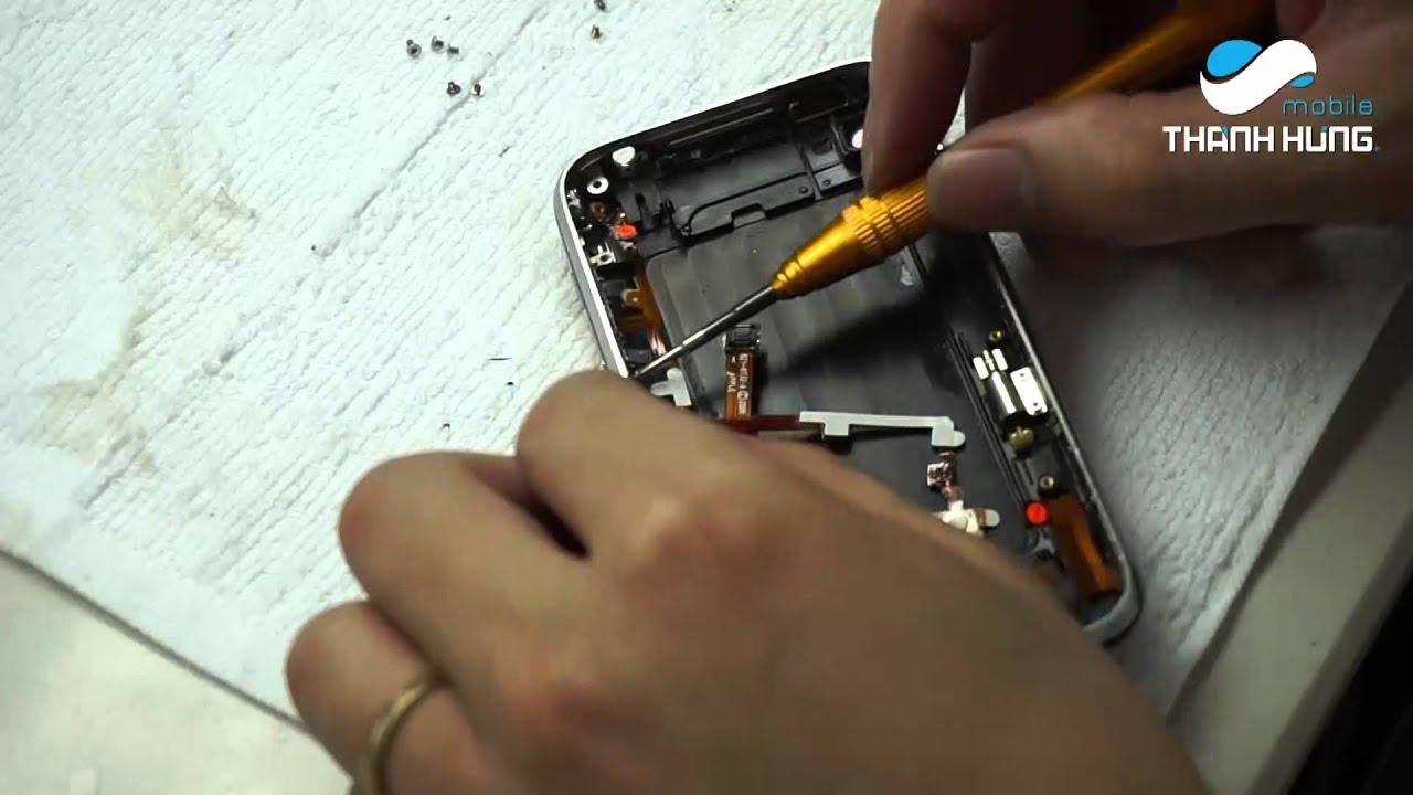 Hướng dẫn thay cáp sạc, volume iPhone 3GS
