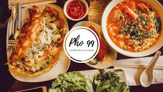 [FOOD REVIEW FRIDAY] PHỞ 99 | BEST VIETNAMESE CRAB UDON IN SEATTLE