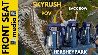 hersheypark skyrush pov hd back seat on ride 2012 1080p intamin hyper roller coaster gopro video