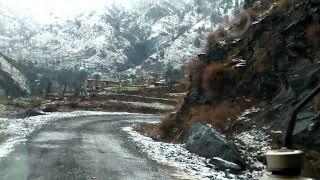 Snowfall in Darhal 2019