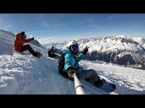 4K   Snowboarding   Chamonix, France   2017  GoPro Hero5 Black