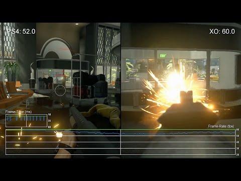 Сравнение качества текстур и частоты FPS игры Battlefield Hardline на Xbox One и Playstation 4