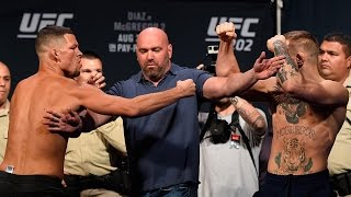 Conor McGregor vs. Nate Diaz | Weigh-In | UFC 202