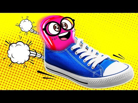 Comic Book Shoes By Slime Sam
