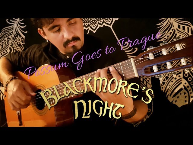 Possum Goes to Prague on Classical Guitar (Blackmore's Night) by Luciano Renan