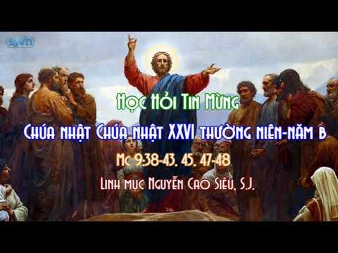 Học hỏi Tin Mừng Chúa Nhật XXVI thường niên năm C