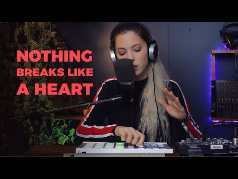 Nothing Breaks Like A Heart - Miley Cyrus and Mark Ronson | Romy Wave cover