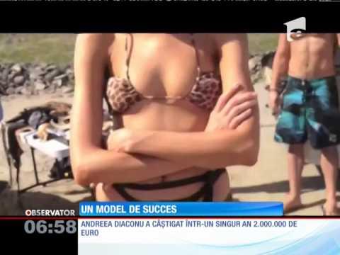 Andreea Diaconu, un model de succes
