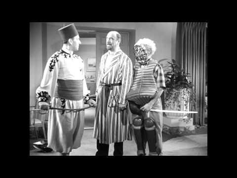 "Harpo vs Kurt - The Marx Brothers in ""A Night at Casablanca"""