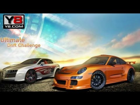 Y8 car games racing - Ultimate Drift Challenge gameplay 2014 - YouTube