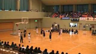 ウインターカップ京都予選女子決勝4Q最後までもつれる。 thumbnail