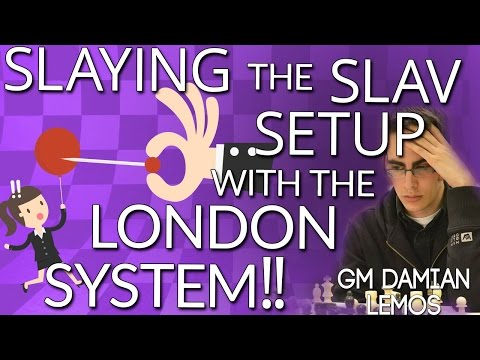 Slaying the Slav Setup with the London System with GM Damian