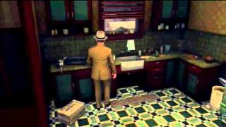 L.A. Noire - small sequence error in The Silk Stocking Murder