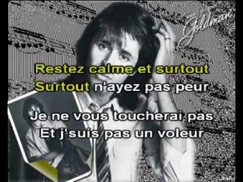 """Karaoké Jean-Jacques Goldman """"Le rapt"""""""