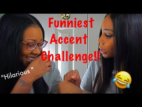 The Funniest Accent Challenge!!