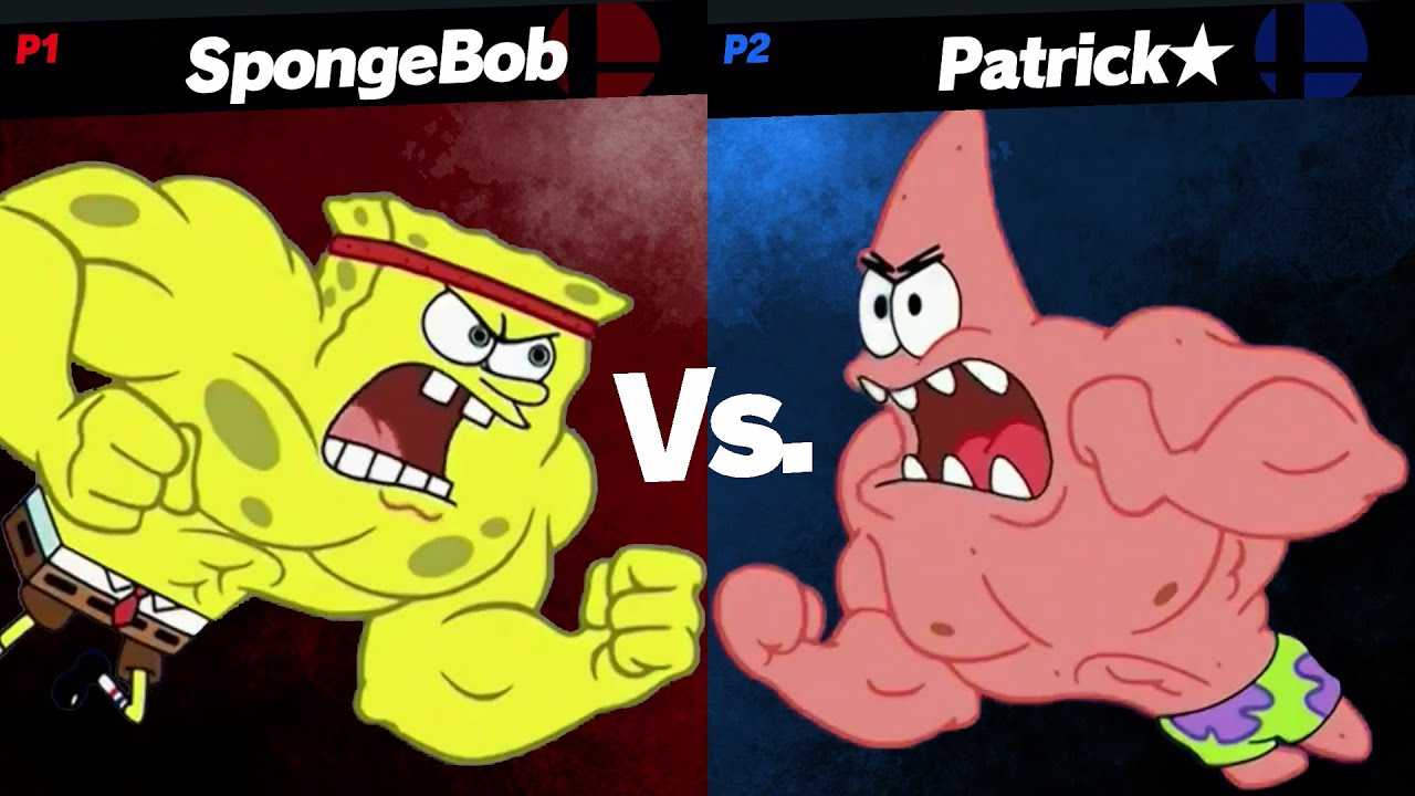 Spongebob vs. Patrick but it's Smash Ultimate