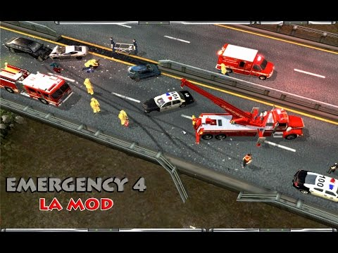 Emergency 4/LA Mod Campaign - Mission 11 -  Oil Rig On Fire!