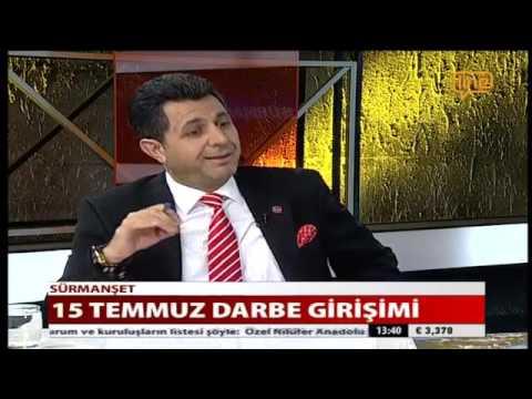 SÜRMANŞET 23.07.2016 LİNE TV -  MEHMET ÇETİNKAYA