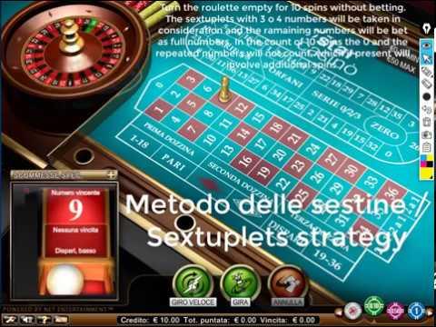 METODO DELLE SESTINE / SEXTUPLETS STRATEGY