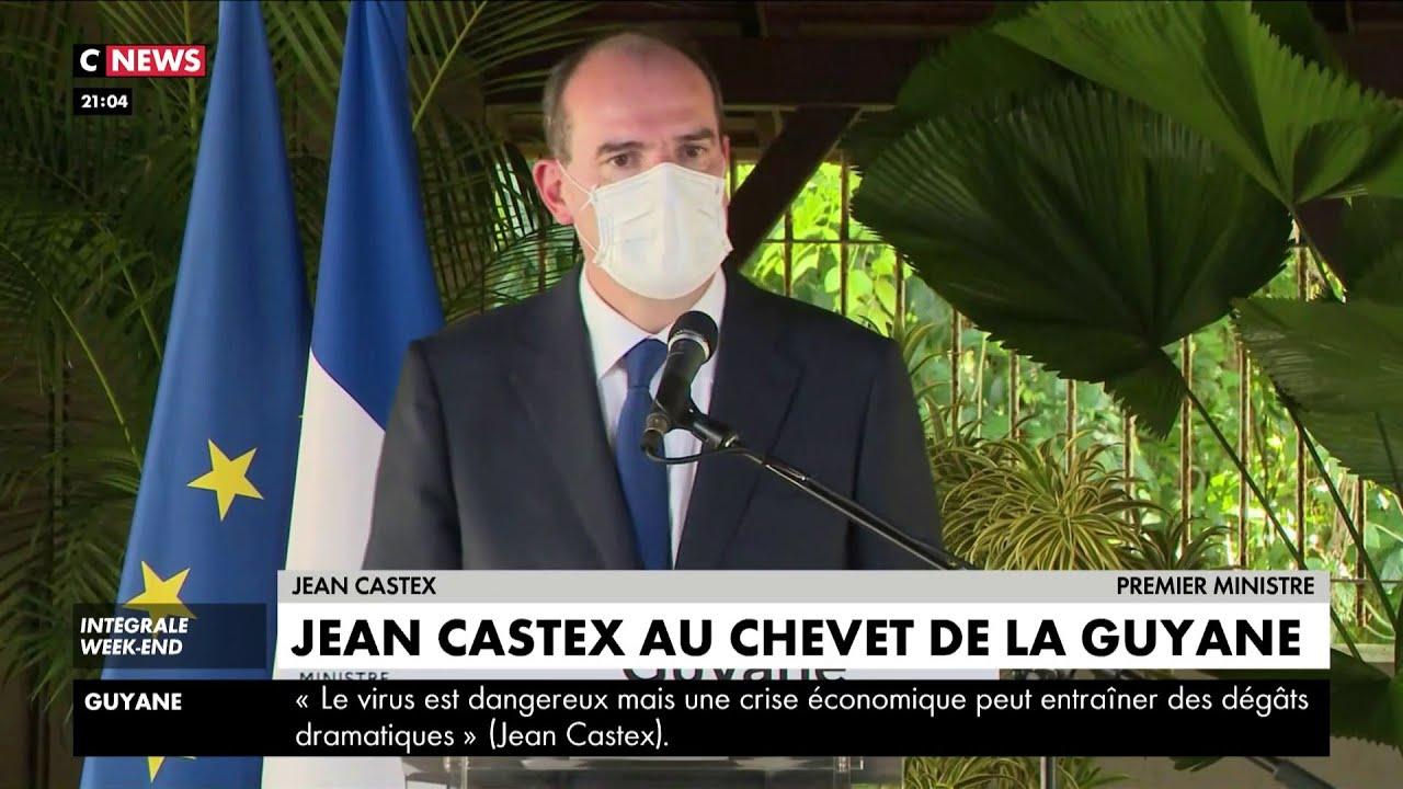 Jean Castex apporte tout son soutien à la Guyane