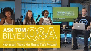 Team Q&a On How Impact Theory Has Shaped Their Personal Goals