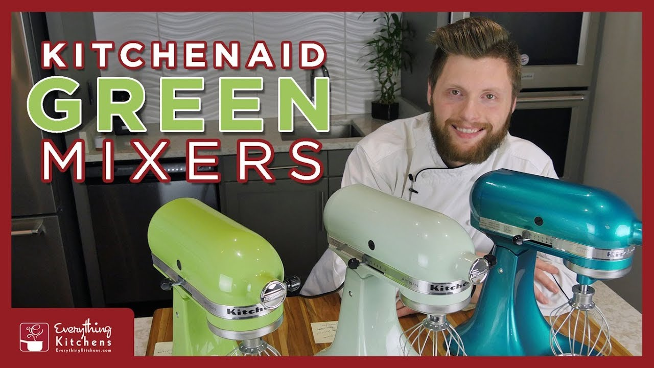 Genial KitchenAid Green Mixer Color Comparison   Green Apple, Pistachio, Sea Glass