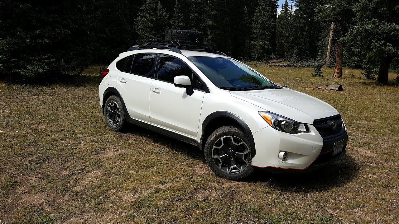 Lifted Subaru Crosstrek >> Subaru Crosstrek Off-Road - Rear Cam - YouTube