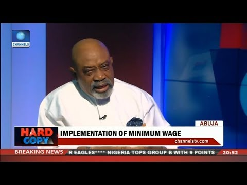 Ngige Gives Reason For High Unemployment In Nigeria