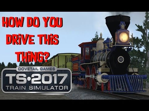 Train Simulator 2017 - CPRR 4-4-0 Jupiter