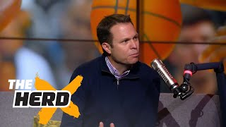 Lee Jenkins talks 2017 NBA Playoffs, the Thunder without Durant and more | THE HERD (FULL INTERVIEW)